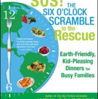 Trying to get your kids to eat healthy? SOS! Six O'Clock Scramble to the Rescue with moo shu veggie wraps!