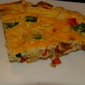 Meatless Monday: Spinach Red Pepper Frittata