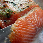 Homecured Gravadlax ( Gravalax) , Homebaked No Knead Poppy Seed , Dill and Mustard Sauce
