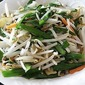 Stir Fried Bean Sprouts with Chives