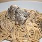 Morel mushroom pasta