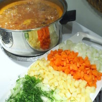 SOUP Sunday MINESTRONE grain vegetable soup