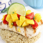 Grilled Mahi Mahi with Mango, Red Pepper & Lime Salsa Recipe