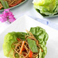 Soba Noodle & Vegetable Lettuce Wraps with Hoisin & Chili Sauce Recipe