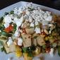 Jicama and Roasted Corn Salad