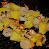 Grilled Coconut Shrimp Skewers