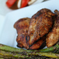 Grilled Marinated Chicken with Italian Vegetables