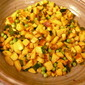Gujarati Vegetables With Lime And Cilantro!