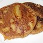 Quick Apple Topped Pancake