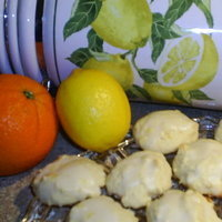 CITRUS glazed RICOTTA cookie