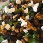 Fig, Walnut and Chevre Salad