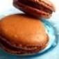 Macaroons Francés de Chocolate