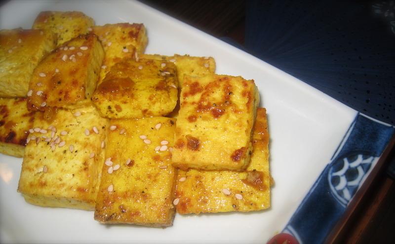 Orange Spiced Tofu