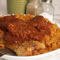 Jollof Rice (a Nigerian party pillaf)