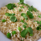 Crab and Pea Risotto