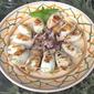 Grilled Stuffed Calamaretti-Involtini di Calamaretti con Mozzarela e Basilica