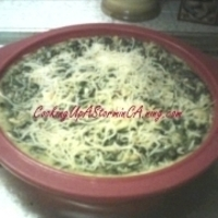 Spinach Feta Pie from Miss Polly's Kitchen (