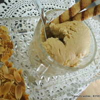 Creamy caramel BUTTERSCOTCH ice-cream