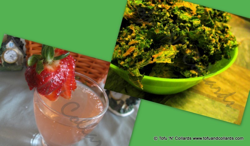 """""""Cheezy"""" Kale Chips & Mojitos"""
