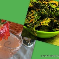 """Cheezy"" Kale Chips & Mojitos"