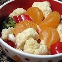 Cauliflower and Orange Salad