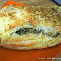 Creamy Spinach Pillows