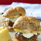 Smoky Burger Sliders with Grilled Pineapple & Chipotle Mayonnaise Recipe