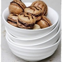 {Baking} DOUBLE COFFEE MACARONS ... finding FEET in failure! Mac Attack 8