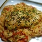 Herb Rubbed Chicken with Creamy Orzo