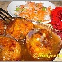 Easy Vegetable Manchurian