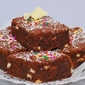 Sweet and Simple: Snow-Flecked Brownies