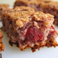 Butter Free Raspberry and Coconut Flapjacks