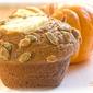 Teenie Cakes - Pumpkin Cream Cheese Muffins with Pepita Crunch