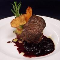 Grilled US beef tenderloin………