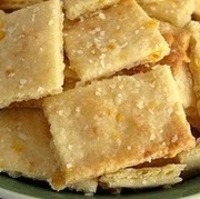 "Cheese Crackers - AKA ""Fake Cheese Its"""