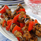 Chicken Kebabs with Pomegranate-Spice Marinade Recipe