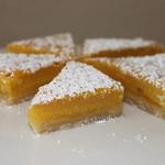 Lemon Limoncello Bars