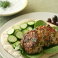 Get Him To The Greek - Mediterranean Turkey Burgers