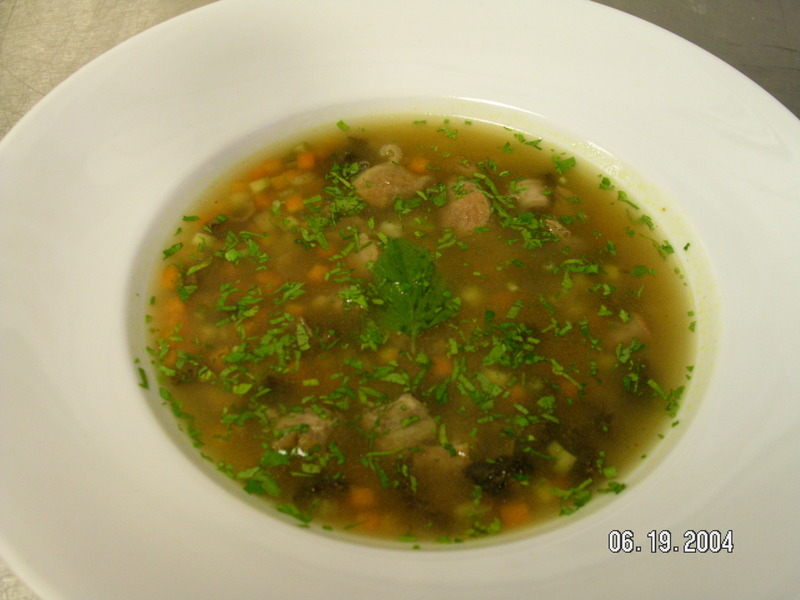 Oxtail Broth soup