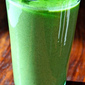 Green melon smoothie