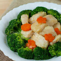 Stir-fried Broccoli with Fish Fillet