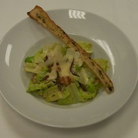 CAESAR SALAD with salmon