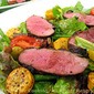 Magred de Canard (Duck Breast) and Courgette (Squash) Salad; the update