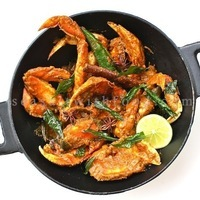 Malaysian Dry Curry Crabs