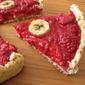 Raspberry Banana Pie with Coconut Pastry