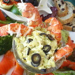 Tangy ARTICHOKE and LOBSTER Salad platter