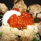 North African Meatballs and Couscous