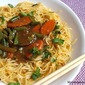 Butter Garlic Noodles with Vegetable Medley