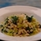 A Warm Salad of leeks and white beans