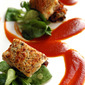 Goat Cheese Crusted Loin of Lamb